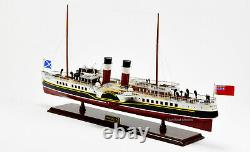 PS Waverley Paddle Steamer Handcrafted Wooden Ship Model 31