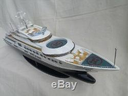 Pelorus 34 Modern Yacht L87 Wood Model Boat Beautiful Home Decor