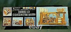 Posto Di Combattimento MODEL Banart Wooden Kit #740 Combat Place Cross Section
