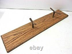 RARE BOUCHER ERA WOODEN MODEL LIVE STEAM 2 CYLINDER BOAT POND YACHT, WithSTAND