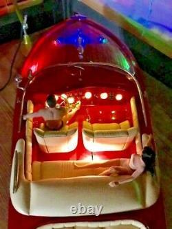 RC RIVA AQUARAMA 90cm (35.4330709 inches) SPEED BOAT WOOD MODEL