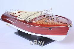 RIVA AQUARAMA 26 (67cm) Wood Boat Model