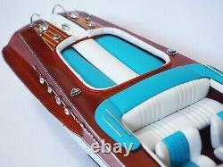 RIVA AQUARAMA WOOD BOAT MODEL 21 (53 cm)