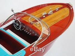 RIVA ARISTON BOAT 25 (64 cm) Wood Model