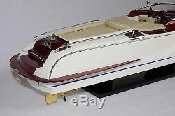 RIVA GUCCI BOAT 27 (68cm) Wood Model