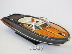 RIVA ISEO Boat 29 (74 cm long) Wood Model