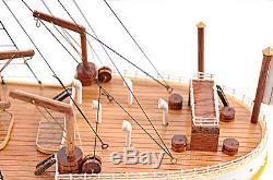 RMS Titanic Ocean Liner 40 Built Wooden Model Cruise Ship Boat Assembled