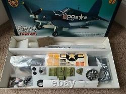 Rare Vintage Flying Styro Kit F4U-1 Corsair Model R/C Airplane New in Open Box