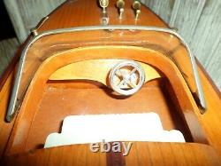 Riva 20 Handcrafted Wooden boat Model