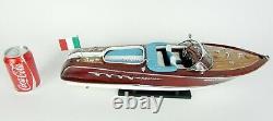 Riva Aquarama 20 Handcrafted Wooden Model Boat