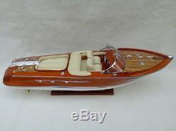 Riva Aquarama 26 3 Options Quality Wood Model Boat L60 Handmade Italian Boat
