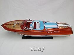 Riva Aquarama 34 High Quality Italian Model Boat L80 Beautiful Home Decor