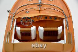 Riva Aquarama Exclusive Edition 34 Handcrafted Wooden Classic Boat Model