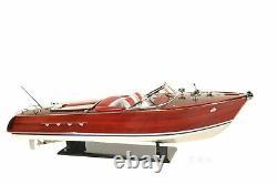 Riva Aquarama Exclusive Edition Speed Boat 35 RC Motor Model Ship Assembled