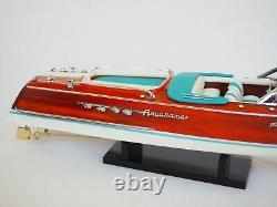 Riva Aquarama LAMBORGHINI Wood Boat Model 21 (53 cm)