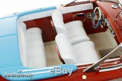 Riva Aquarama special Wooden Model Boat, 100% Solid Wood Plank on Frame RC-ready