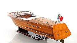 Riva Ariston Exclusive Edition Speed Boat 35 Wood Model Ship Assembled