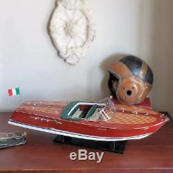 Riva Ariston Model Vintage Wood Boatan impressive 36 long size