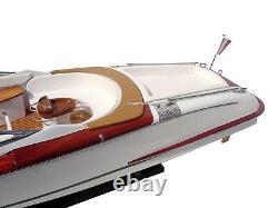 Riva Gucci Wooden Model Boat