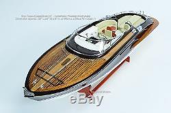 Riva Rama 25 Handmade Wooden Classic Boat Model