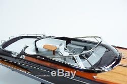 Riva Rama Classic Boat 35 Handmade Wooden Boat Model