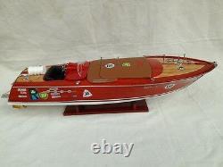 Riva Special Aquarama Zoom 28 Italian Speed Boat Model Boat Riva Aquarama L70