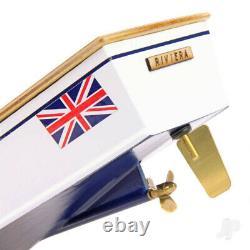 Riviera Motor Boat (410mm) Wood RC Model Boat Kit