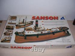SANSON Tugboat 1/50 Scale Wood Model Boat/Ship Kit