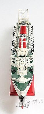 SS United States Cruise Ship Ocean Liner 32 Built Wood Model Boat Assembled