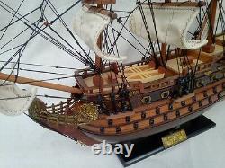 San Felipe 16 Quality English War Ship L50 Beautiful Model Ship Free Shipping