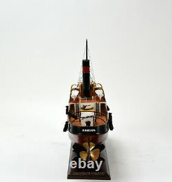 Sanson Tugboat Model Wooden Ship 24 Handcrafted Model Ready to Display