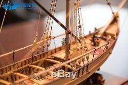 Scale 1/48 Model Ship Boat Kits Marmara Trade Boat 17 Sailboat Kit Deluxe-pack