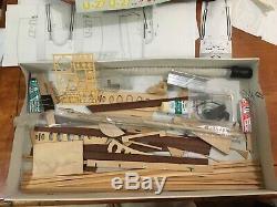 Seattle Hydroplane RC Wooden Boat Model Slo-Mo-Shun U-2 Billing Boat Project
