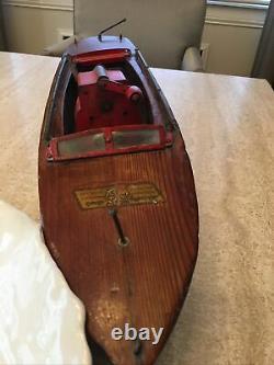 Seaworthy Wood Boat Flying Yankee Model 68