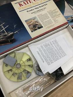 Shipways wooden kit 2031 2032 Wanderer Whaler Multiple Lot of Ship Model Kit
