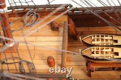 Soleil Royal Wooden Tall Ship Model 36 French Warship Fully Built Boat New