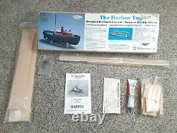 The Harbor Tug Boat Balsa Wood Model By Midwest Products # 956