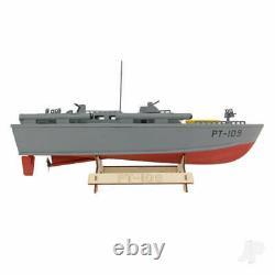 The Wooden Model Boat Company PT-109 Patrol Torpedo Boat Kit 400mm NEW IN STOCK