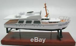Thunderball James Bond 007 Boat Desktop Wood Model Replica XXL Free Shipping