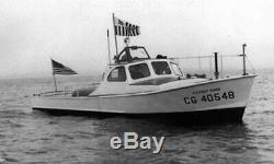 USCG 40 foot utility ship boat 1/12 scale RC model wood kit