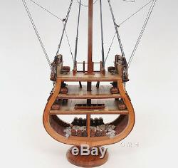 USS Constitution Cross Section Tall Ship 34 Built Wood Model Boat Assembled