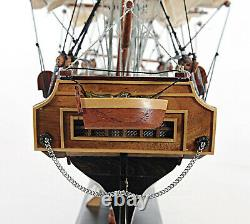 USS Constitution Wooden Tall Ship Model 22 Old Ironsides Fully Assembled Boat