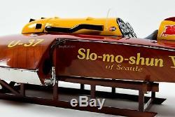 U-37 Slo-mo-shun V Hydroplane Race Boat Model 30 Scale 112