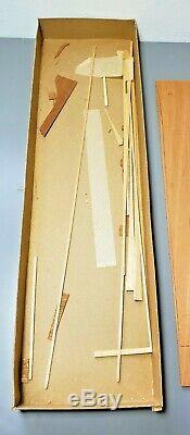 VINTAGE Sterling Models Chris Craft 21' Monterey Wood R/C Boat Kit B-13M Unbuilt