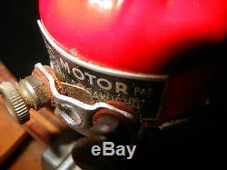 VINTAGE TOY BOAT MODEL WOOD TOY ELECTRIC MOTOR Japan OLD EARLY