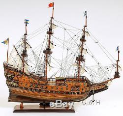 Vasa 1628 Wasa Swedish Tall Ship 38 Built Wooden Model Boat Assembled
