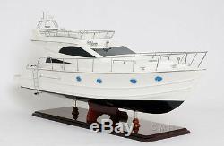 Viking Sport Cruiser Yacht 36 Built Power Boat Wooden Model Ship Assembled