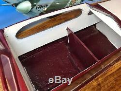 Vintage Aerokits Sea Commander Model Boat Kit Built
