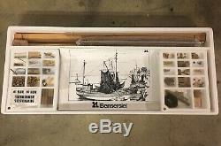 Vintage Artesania Latina R/C Bensersiel Krabbenkutter Model Boat Kit 120