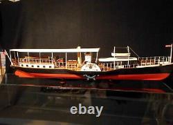Vintage Billing Boats HJEJLEN Model 403 Wood Ship Steamer Model KIt